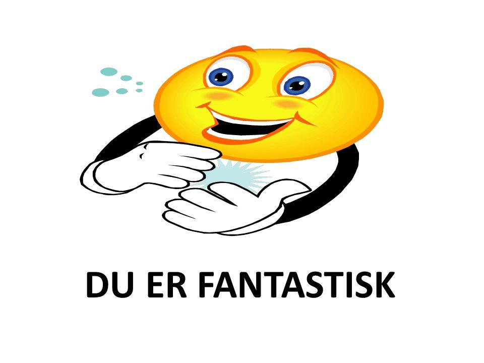 DU ER FANTASTISK