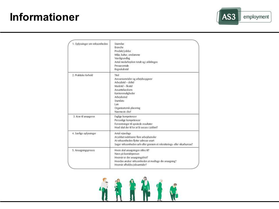 Informationer