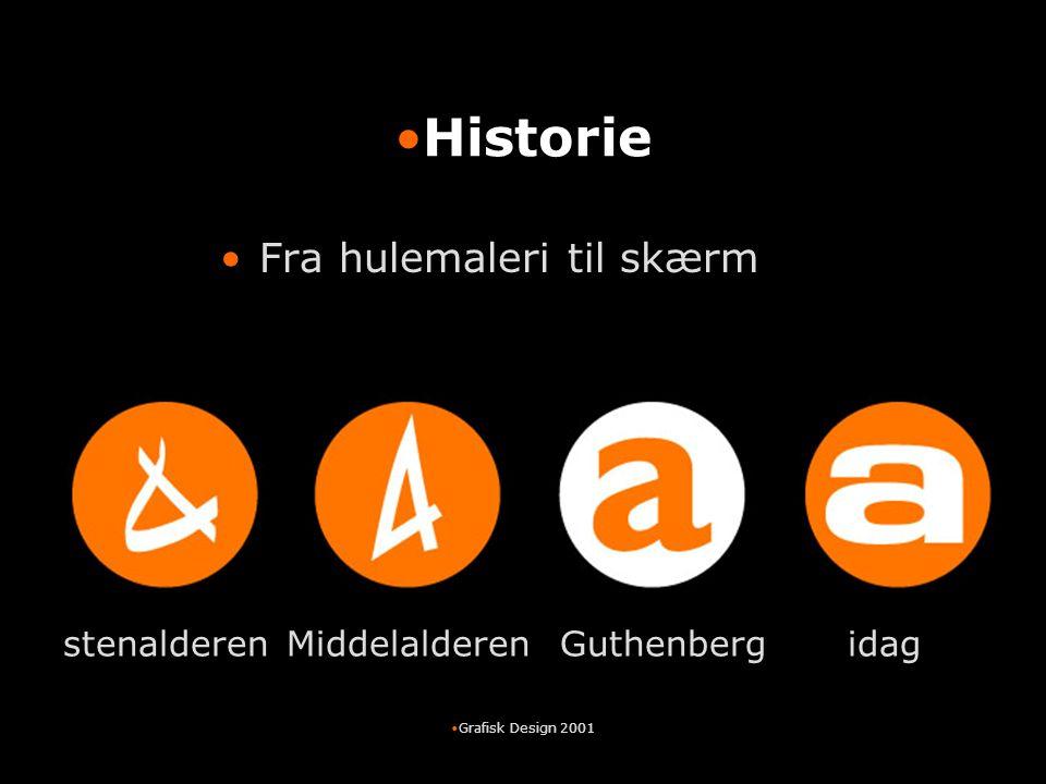 Historie Fra hulemaleri til skærm stenalderen Middelalderen Guthenberg
