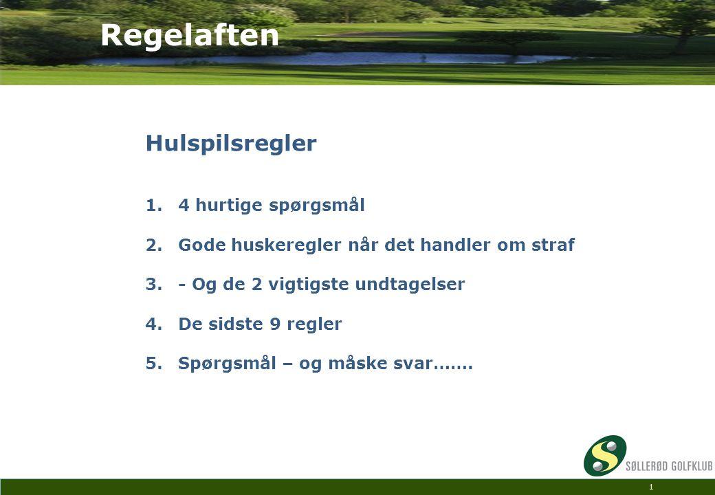 Regelaften Hulspilsregler 4 hurtige spørgsmål