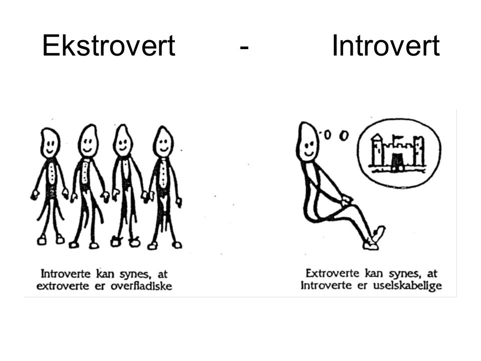 Ekstrovert - Introvert