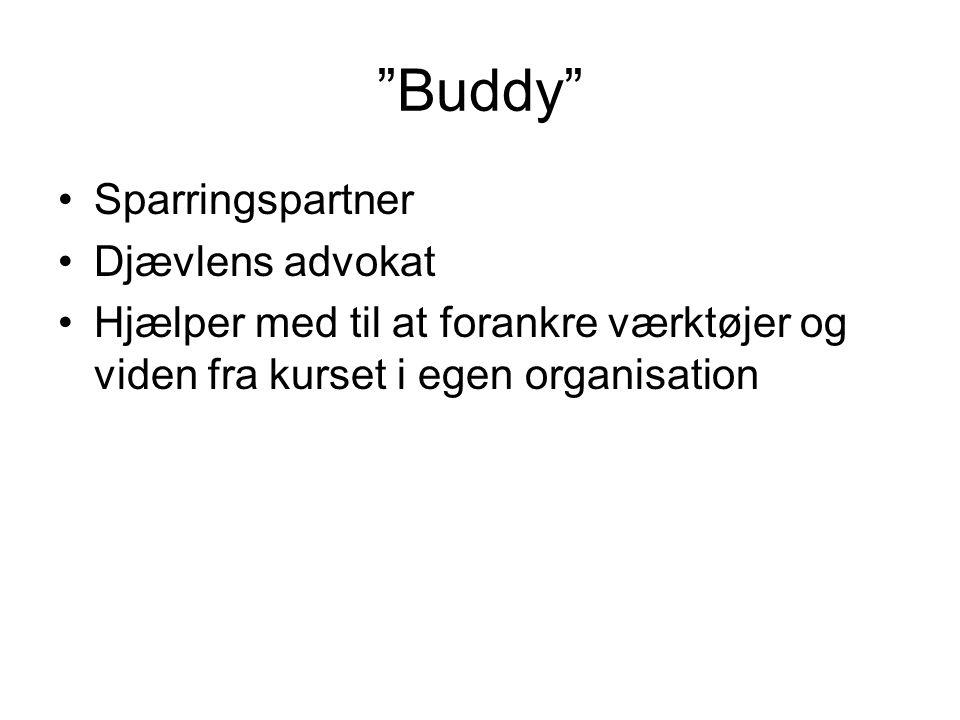 Buddy Sparringspartner Djævlens advokat