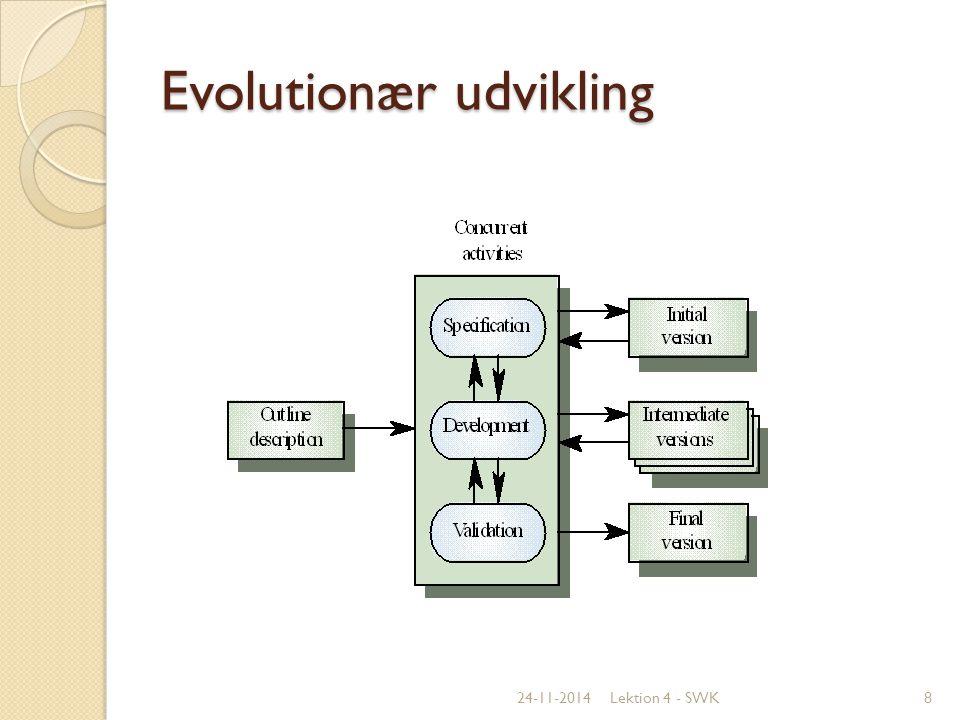 Evolutionær udvikling