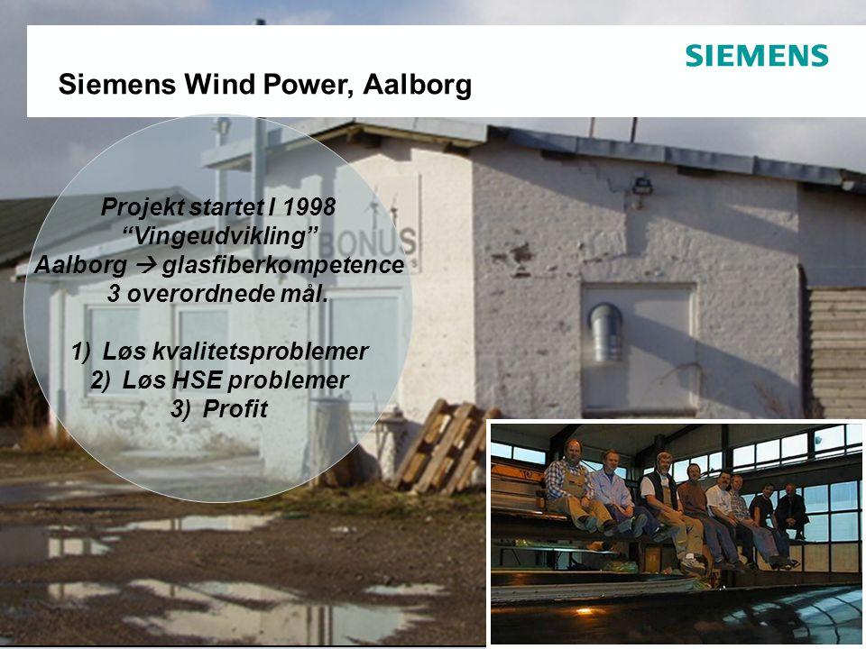 Overview – Siemens Wind Power Aalborg location