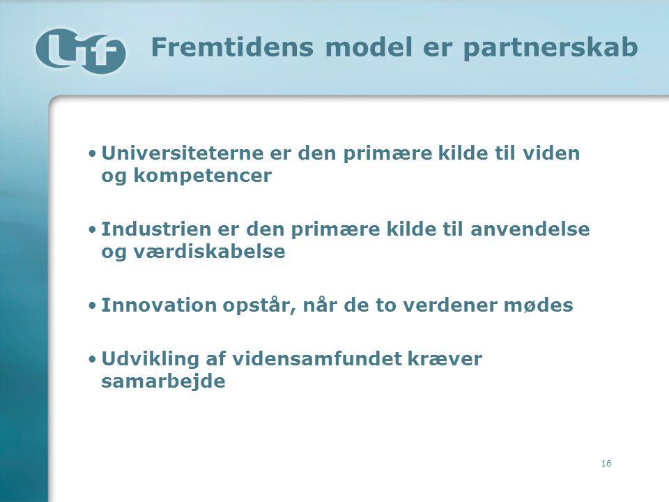 Fremtidens model er partnerskab
