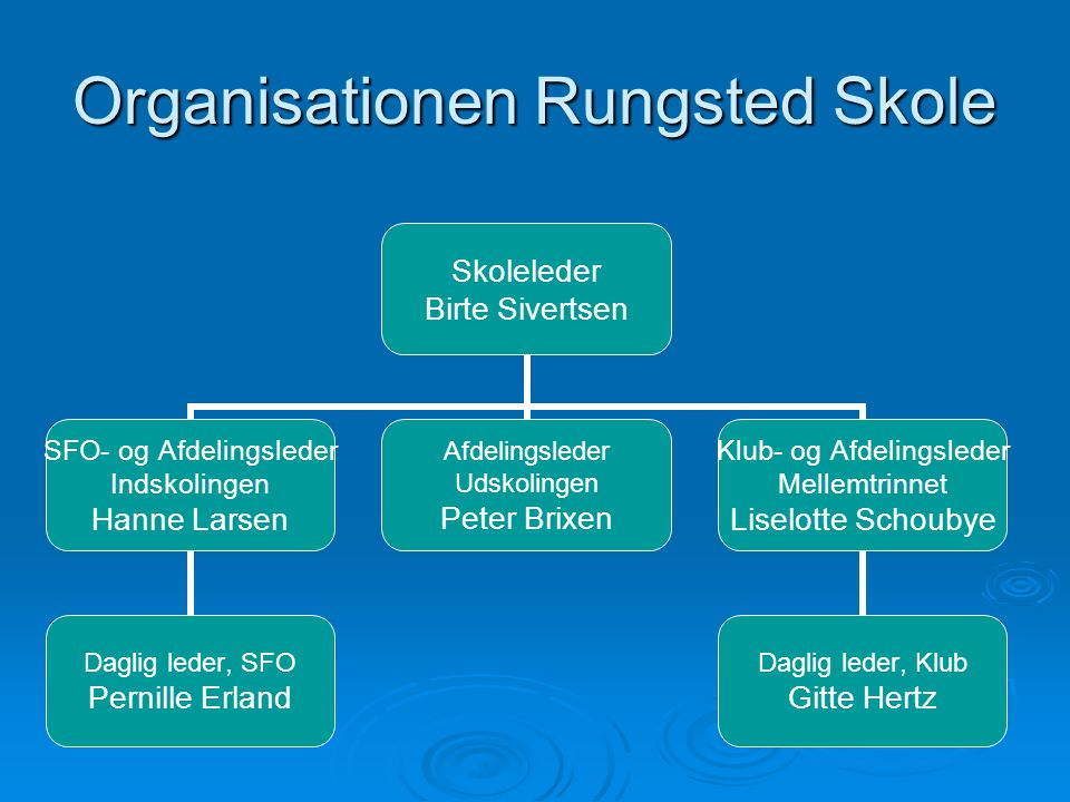 Organisationen Rungsted Skole