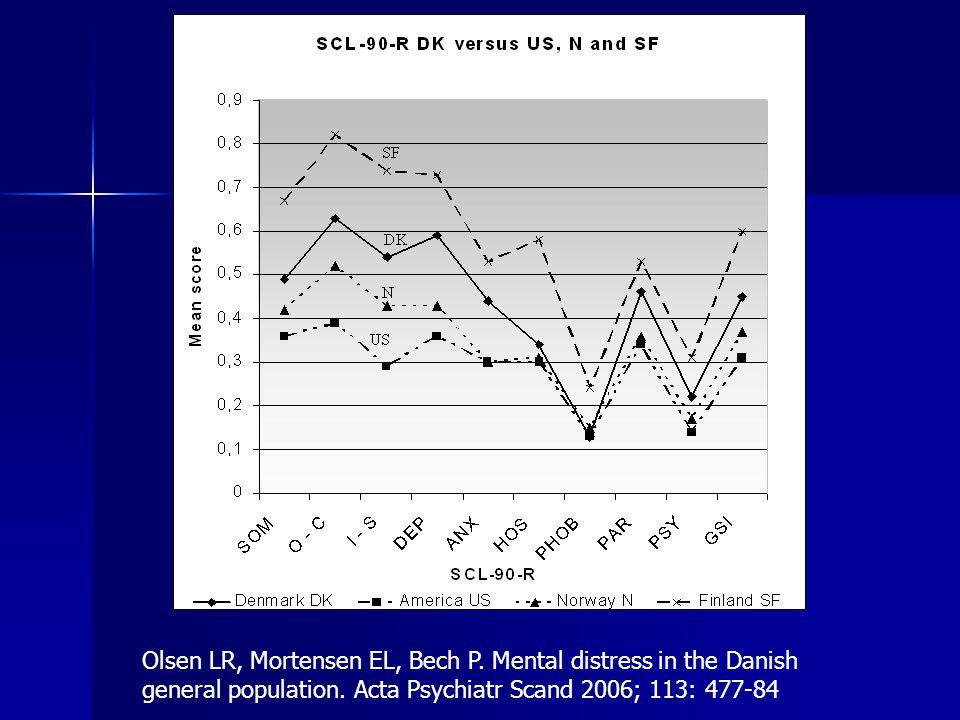 Hvordan ser de danske tal ud i forhold til andre materialer