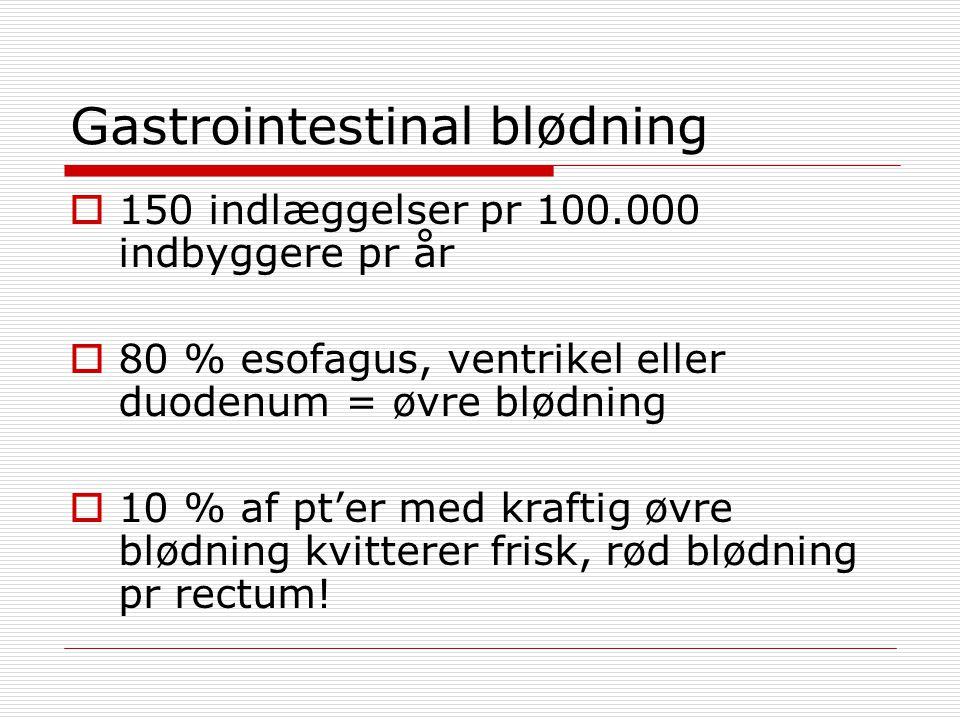 Gastrointestinal blødning