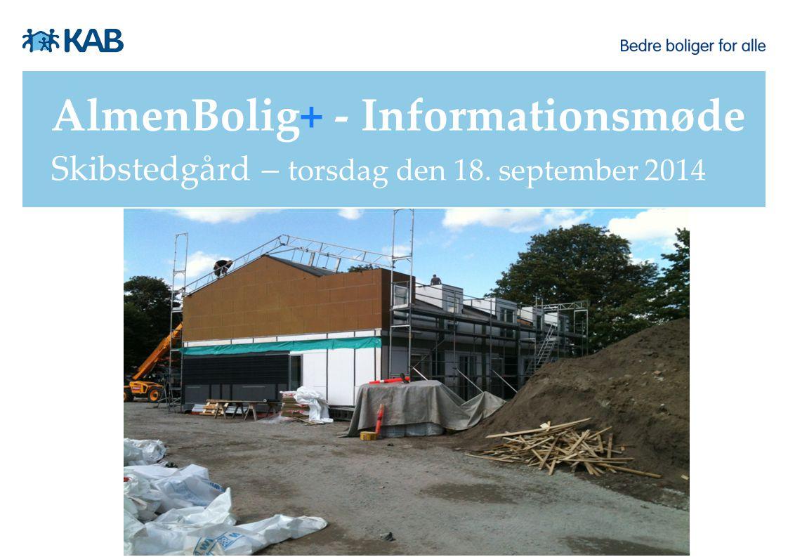AlmenBolig+ - Informationsmøde