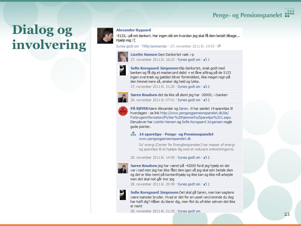 Dialog og involvering