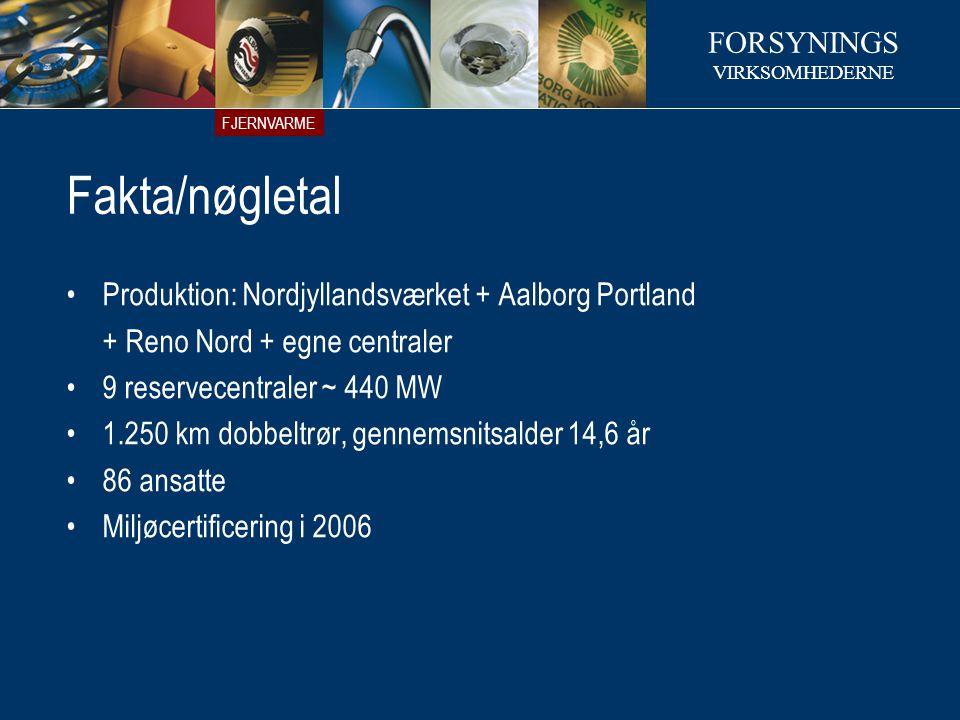 Fakta/nøgletal Produktion: Nordjyllandsværket + Aalborg Portland