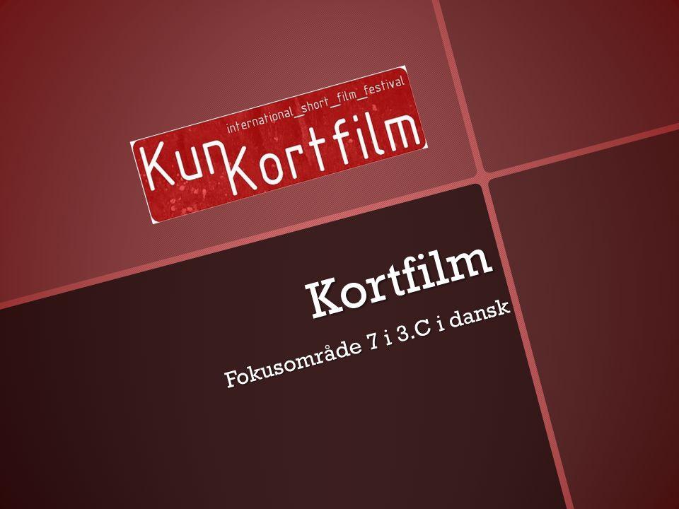 Kortfilm Fokusområde 7 i 3.C i dansk