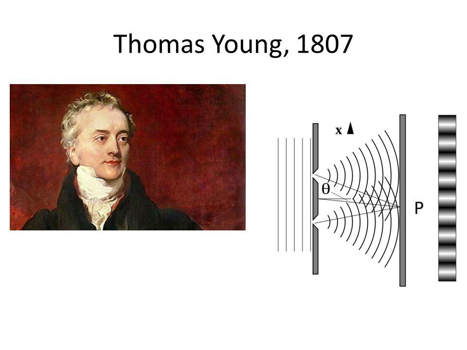 Thomas Young, 1807