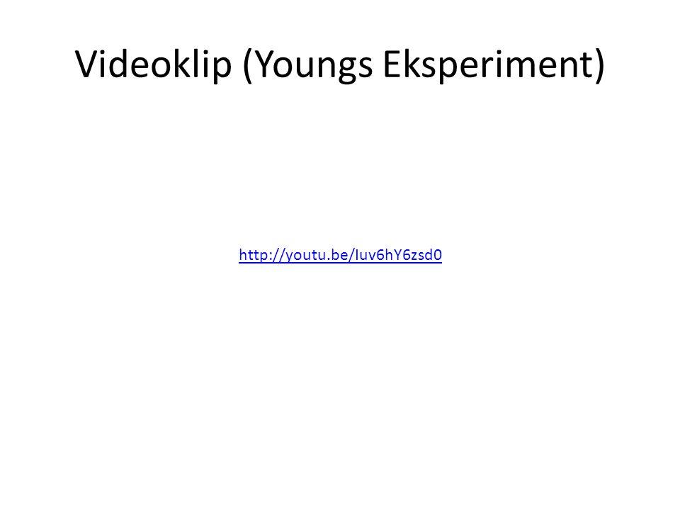 Videoklip (Youngs Eksperiment)