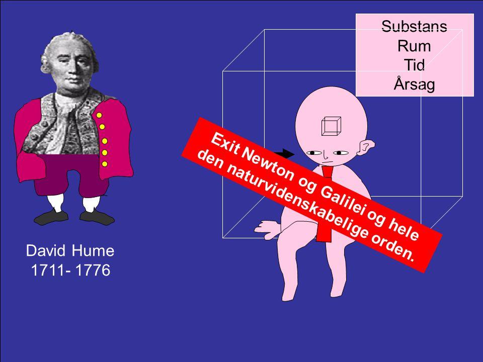 Exit Newton og Galilei og hele den naturvidenskabelige orden.