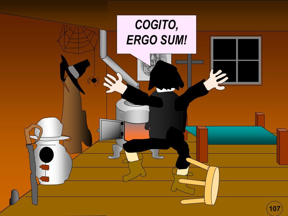 COGITO, ERGO SUM! 107