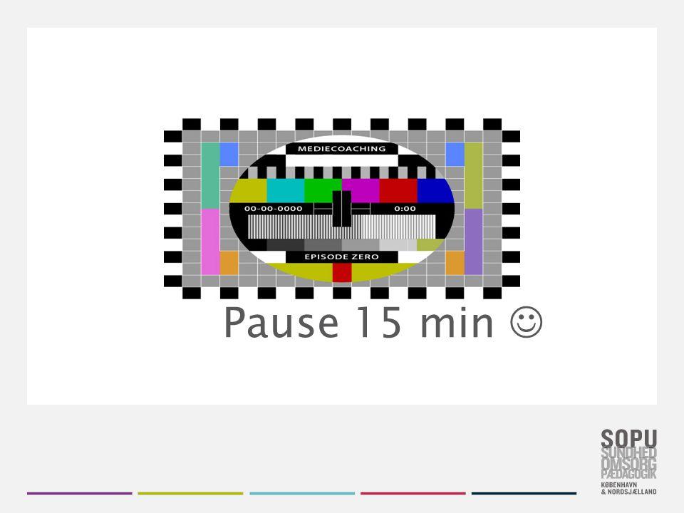 Pause 15 min 