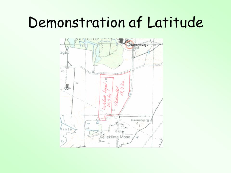 Demonstration af Latitude