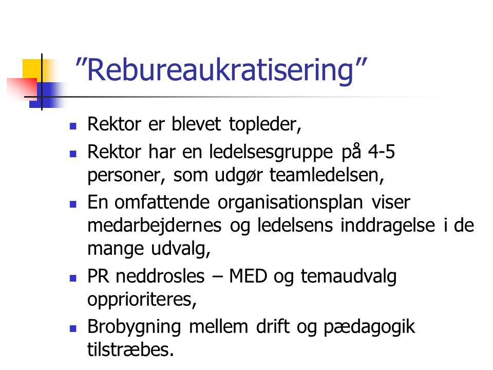 Rebureaukratisering