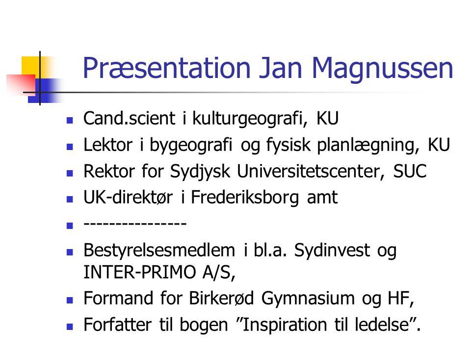Præsentation Jan Magnussen