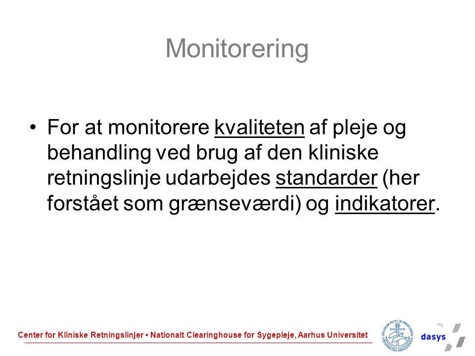 Monitorering