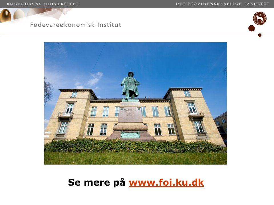 Se mere på www.foi.ku.dk