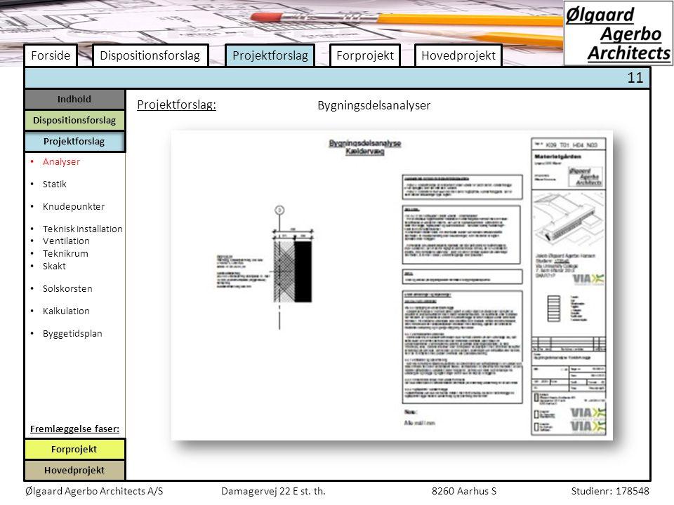 Bygningsdelsanalyser