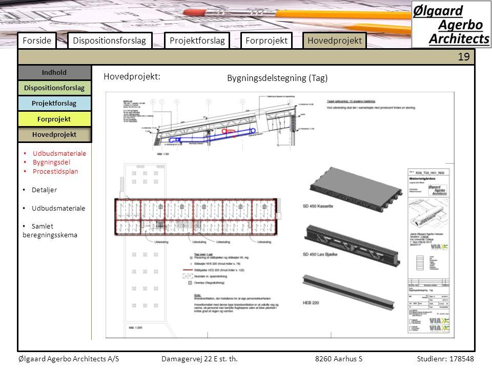Bygningsdelstegning (Tag)