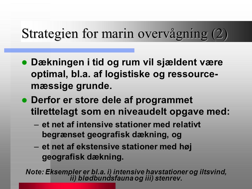 Strategien for marin overvågning (2)