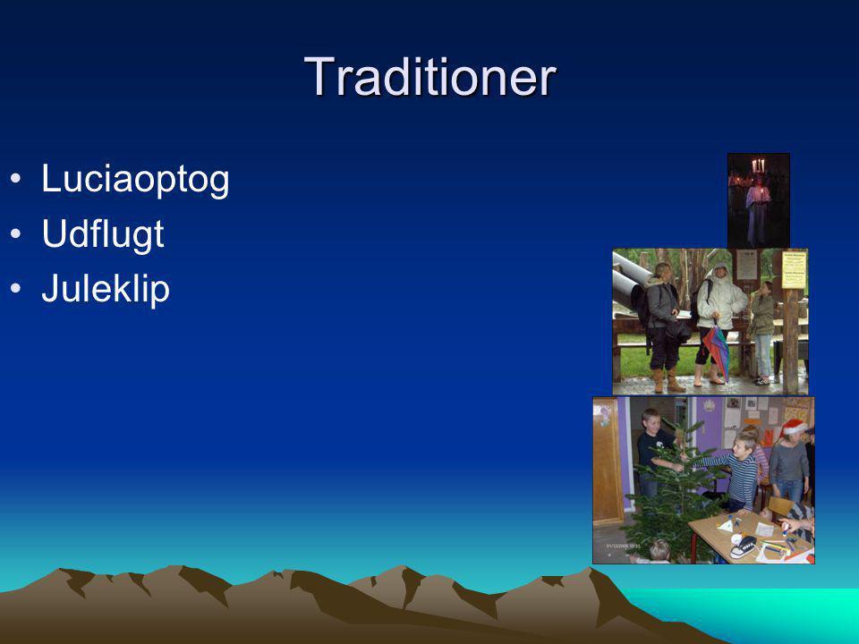 Traditioner Luciaoptog Udflugt Juleklip