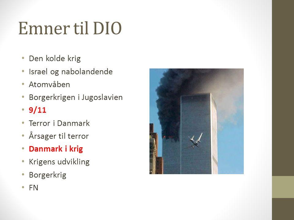 krig og terror