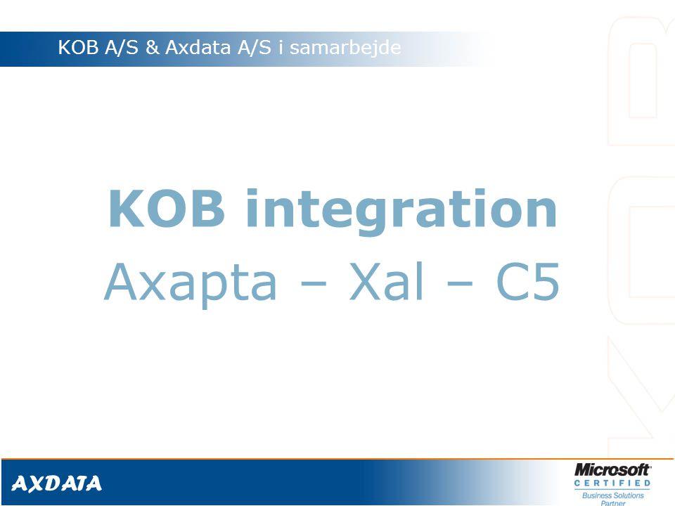 KOB A/S & Axdata A/S i samarbejde