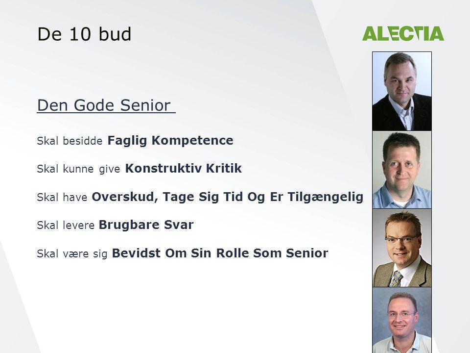 De 10 bud Den Gode Senior Skal besidde Faglig Kompetence