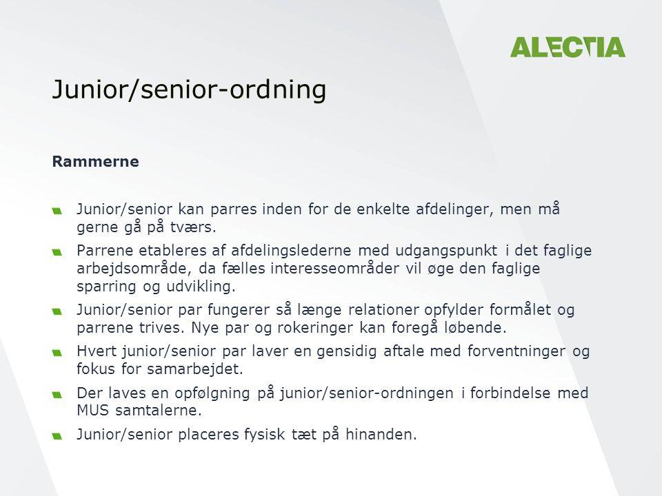 Junior/senior-ordning