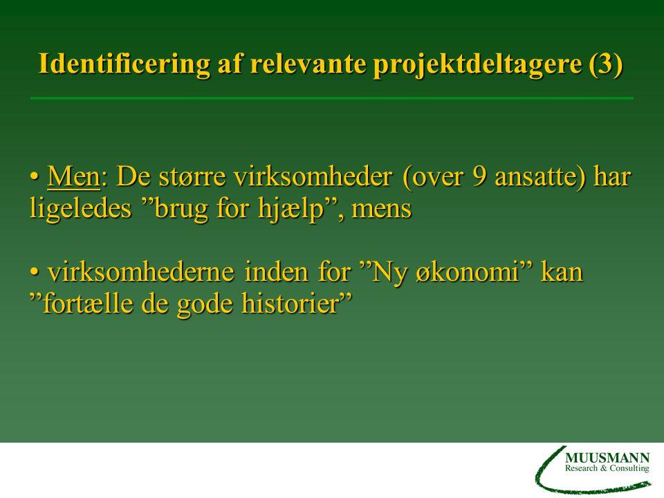 Identificering af relevante projektdeltagere (3)