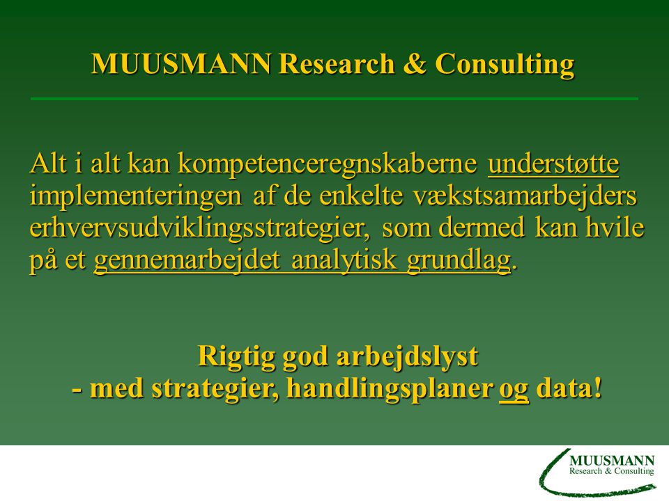 MUUSMANN Research & Consulting