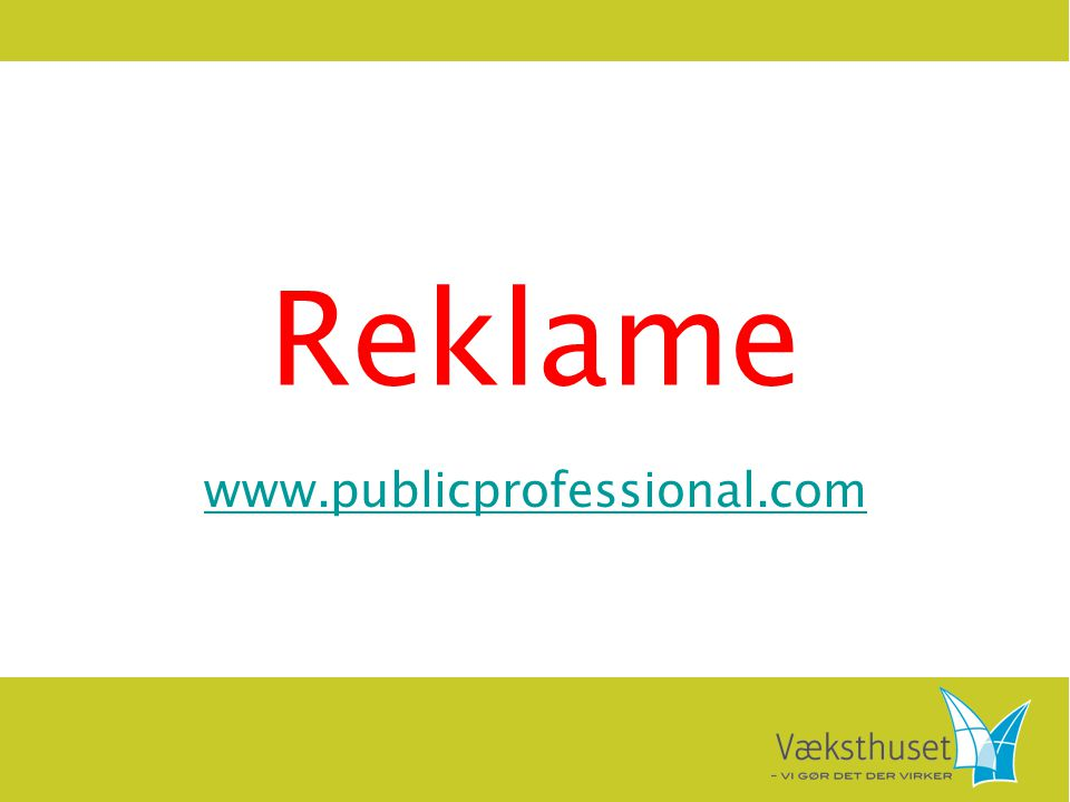 Reklame www.publicprofessional.com