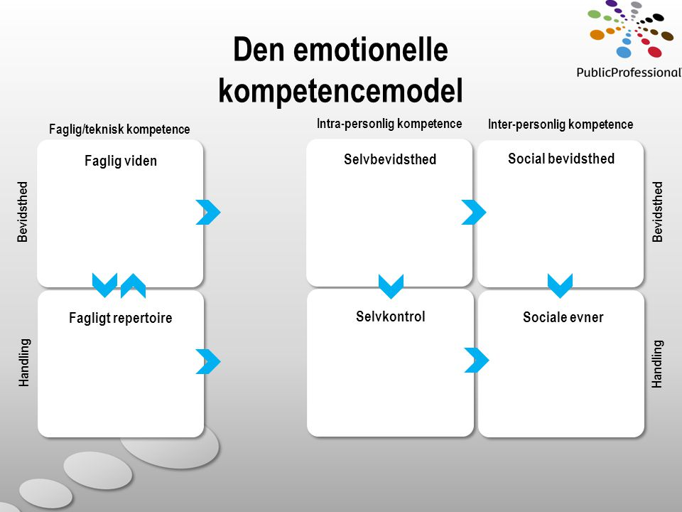 Den emotionelle kompetencemodel