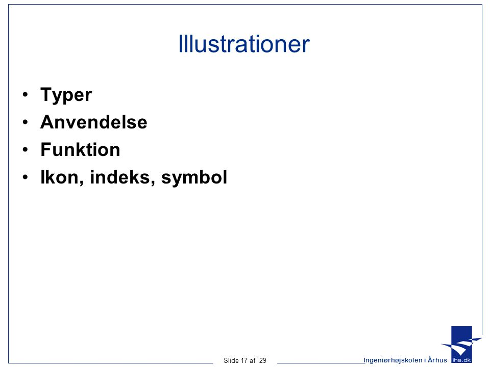 Illustrationer Typer Anvendelse Funktion Ikon, indeks, symbol