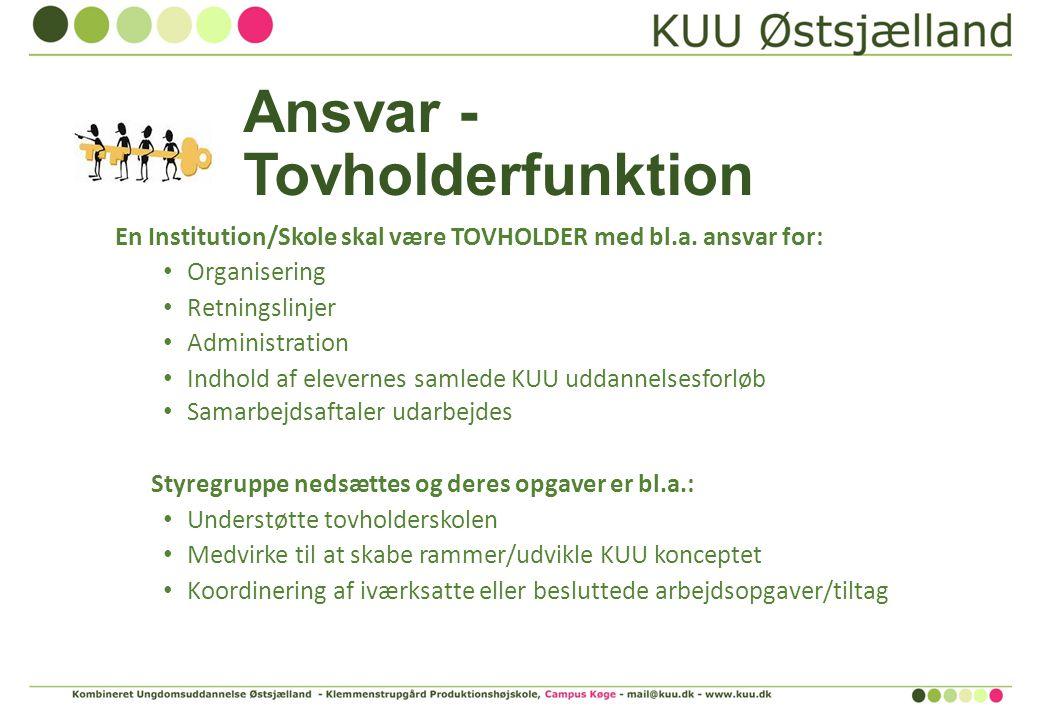 Ansvar - Tovholderfunktion