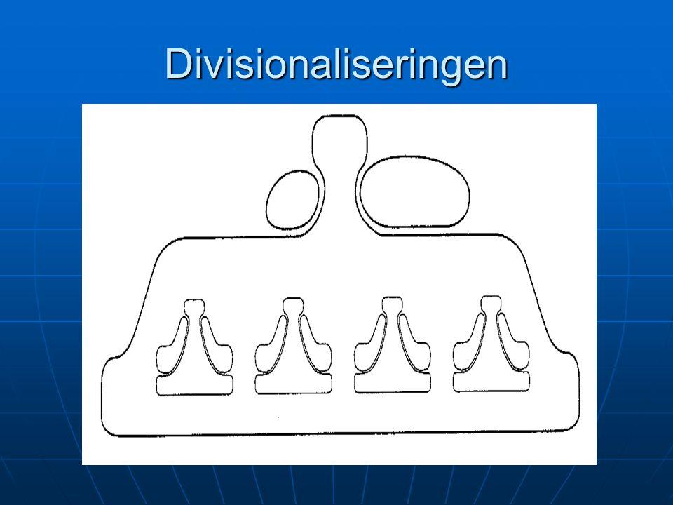 Divisionaliseringen