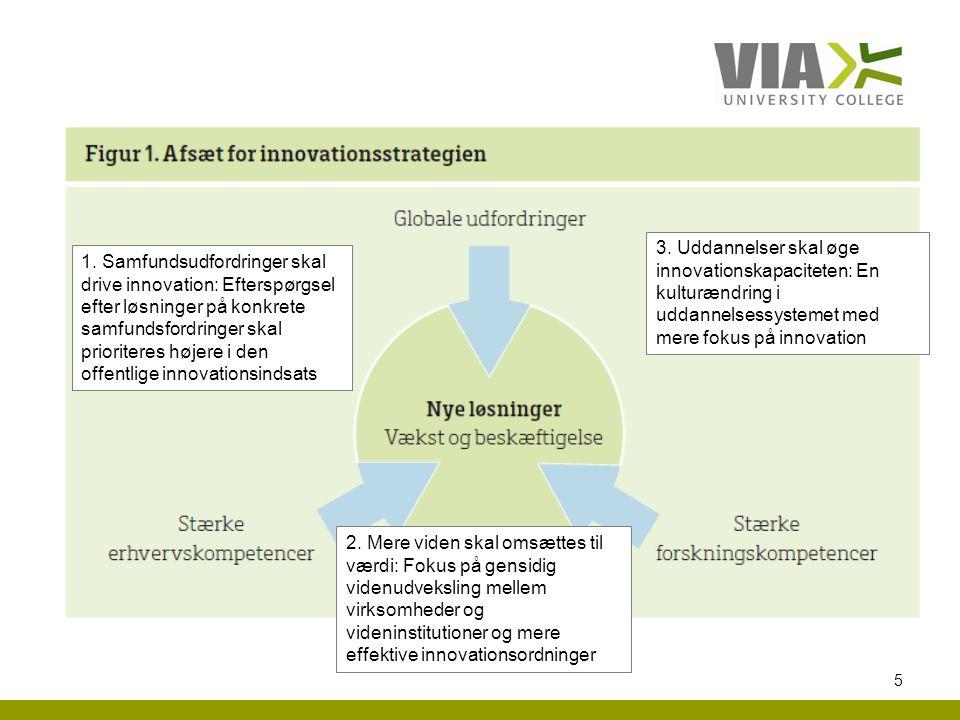 3. Uddannelser skal øge innovationskapaciteten: En kulturændring i uddannelsessystemet med mere fokus på innovation