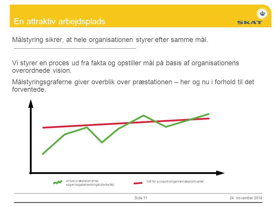 Målstyring sikrer, at hele organisationen styrer efter samme mål.