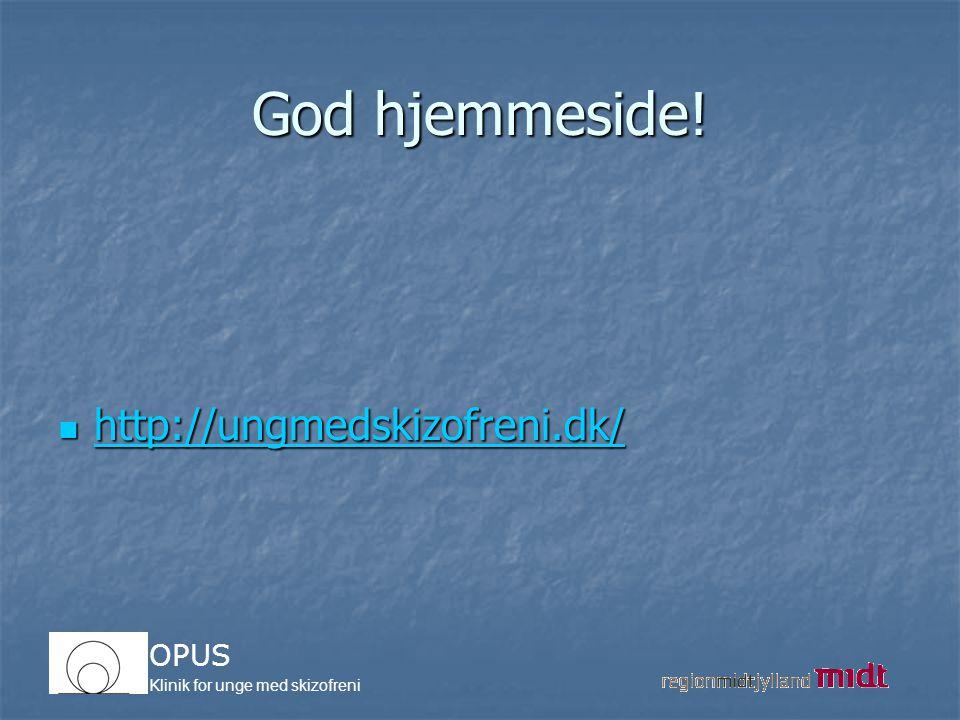 God hjemmeside! http://ungmedskizofreni.dk/