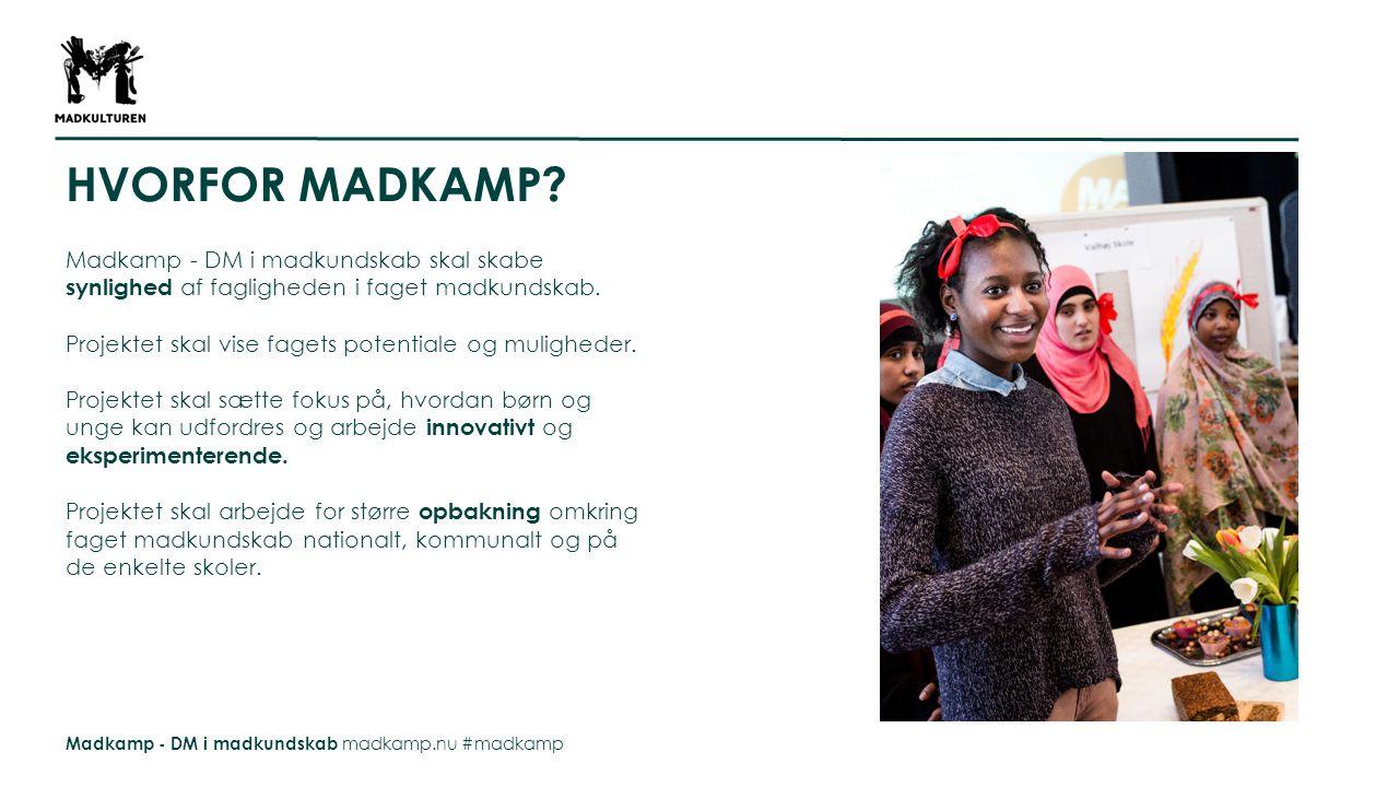 Madkamp - DM i madkundskab