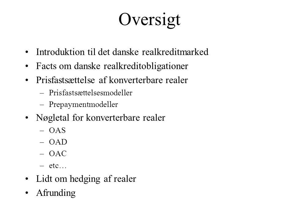 Oversigt Introduktion til det danske realkreditmarked