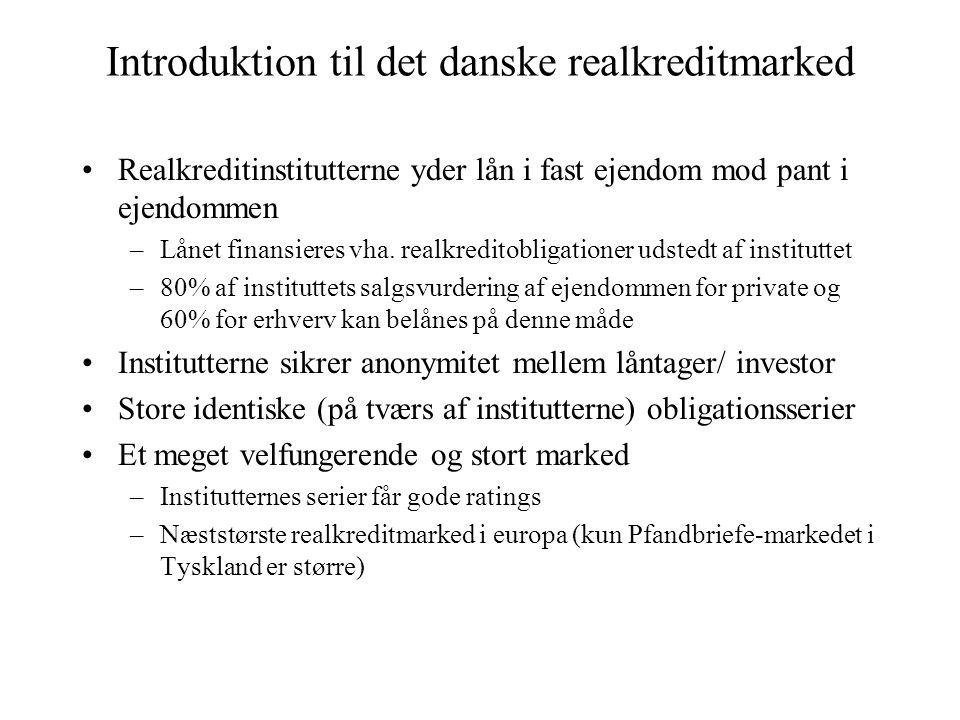 Introduktion til det danske realkreditmarked
