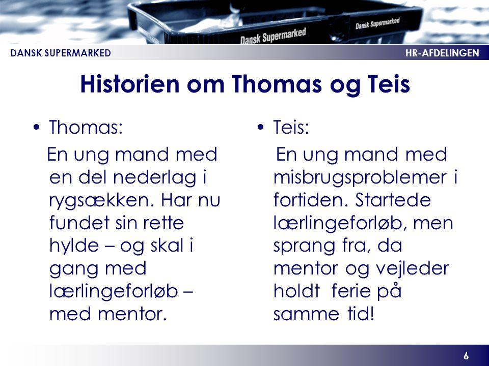 Historien om Thomas og Teis
