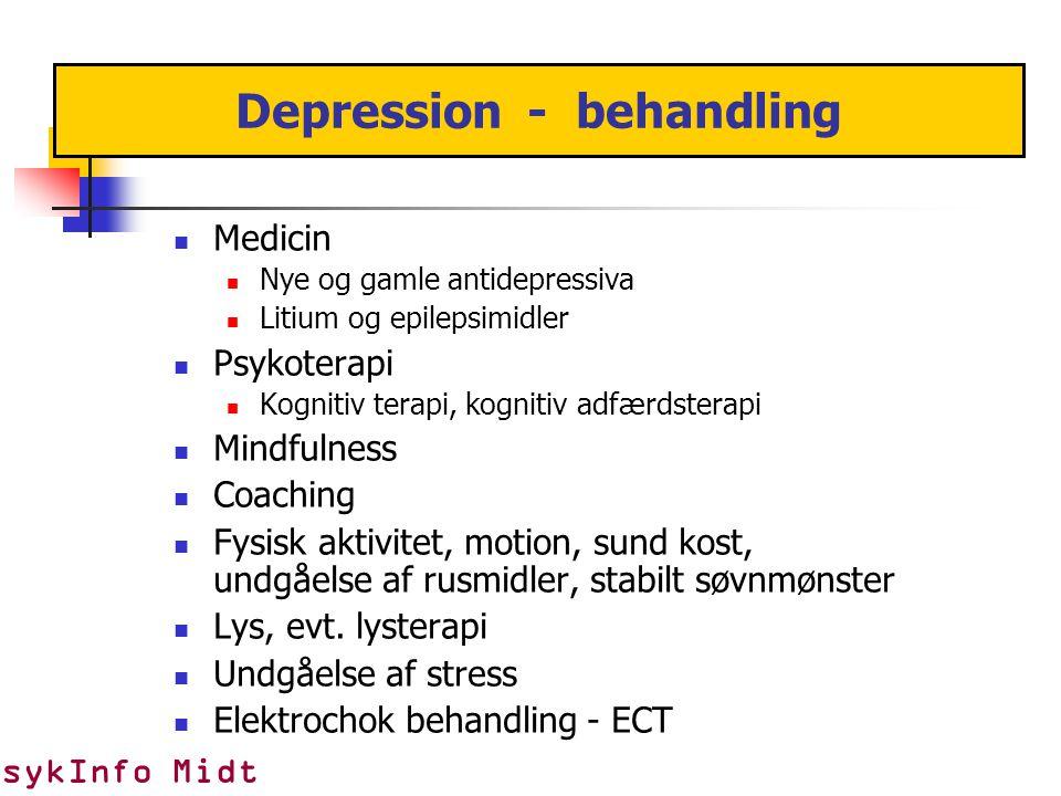 Depression - behandling