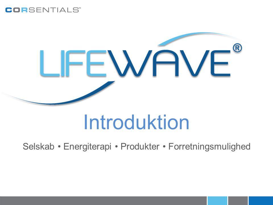 Selskab • Energiterapi • Produkter • Forretningsmulighed